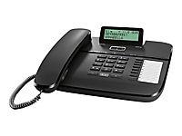 GIGASET DA710 schwarz schnurgeb. analog klappbares Grafik-Display Freisprechen CLIP Telefonbuch für 100 Einträge 8 Direktwahltasten - Produktdetailbild 1