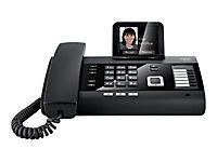 GIGASET DL500A schwarz schnurgeb. analog mit AB Bluetooth TFT-Farbdisplay Addressbuch für 500 vCard Einträge CTI Unterstützung - Produktdetailbild 2