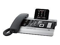 GIGASET DX800A titanium mit 3 AB s 3,5'' TFT Farbdisplay VoIP mit bis zu 6 SIP-Accounts ISDN mit bis zu 10 MSN od. Festnetz analog - Produktdetailbild 1