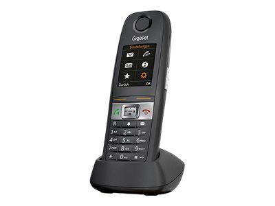 GIGASET E630HX schwarz zus. Mobilteil inkl. LS IP65 CAT-iq für Router zB.Speedport W723 W724 HomeBox 2,TP-Link VR200V TP-LinkVR900V