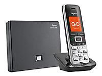 GIGASET S850A GO platin/schwarz schnurl. analog und ALL-IP-fähig für bis zu 6 Telefonnrn. 3 integr. AB mit 55 Min. Aufnahmezeit BT - Produktdetailbild 4