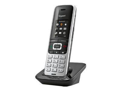 GIGASET S850HX platin/schwarz zus. Mobilteil inkl. LS CAT-iq CAT-iq für Router zB.Speedport W723 W724, HomeBox 2, TP-Link VR200V, TP