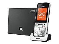 GIGASET SL450A GO platin/schwarz schnurlos analog und ALL-IP-fähig für bis zu 6 Telefonnrn. 3 integr. AB - Produktdetailbild 2