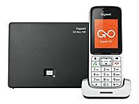 GIGASET SL450A GO platin/schwarz schnurlos analog und ALL-IP-fähig für bis zu 6 Telefonnrn. 3 integr. AB - Produktdetailbild 1