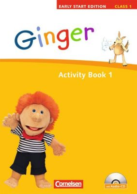 Ginger - Early Start Edition: Class 1, Activity Book m. Audio-CD