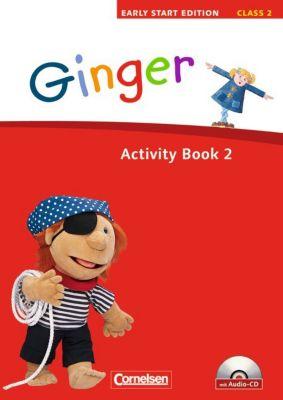 Ginger - Early Start Edition: Class 2, Activity Book, m. Audio-CD, Susan Norman, Hugh L'Estrange