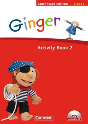 Ginger - Early Start Edition: Class 2, Activity Book, m. Audio-CD, Susan Norman, Hugh L'Estrange