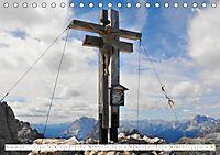 Gipfelkreuze und Wegkreuze in den Südtiroler Bergen (Tischkalender 2019 DIN A5 quer) - Produktdetailbild 8