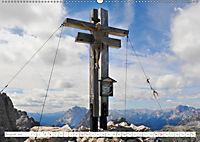 Gipfelkreuze und Wegkreuze in den Südtiroler Bergen (Wandkalender 2019 DIN A2 quer) - Produktdetailbild 8