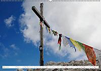 Gipfelkreuze und Wegkreuze in den Südtiroler Bergen (Wandkalender 2019 DIN A2 quer) - Produktdetailbild 5