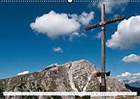 Gipfelkreuze und Wegkreuze in den Südtiroler Bergen (Wandkalender 2019 DIN A2 quer) - Produktdetailbild 4