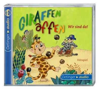 Giraffenaffen Band 1: Wir sind da! (1 Audio-CD), Cally Stronk