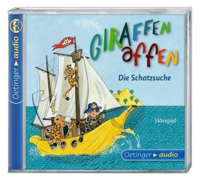 Giraffenaffen Band 2: Die Schatzsuche (1 Audio-CD), Cally Stronk