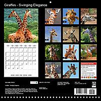 Giraffes - Swinging Elegance (Wall Calendar 2019 300 × 300 mm Square) - Produktdetailbild 13