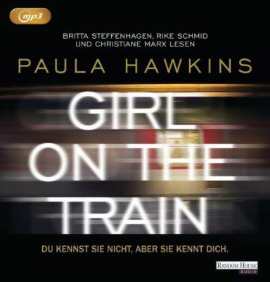 Girl on the Train - Du kennst sie nicht, aber sie kennt dich, 2 MP3-CDs, Paula Hawkins