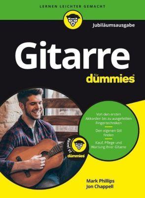 Gitarre für Dummies, m. Audio-CD, Jubiläumsausgabe, Mark Phillips, Jon Chappell