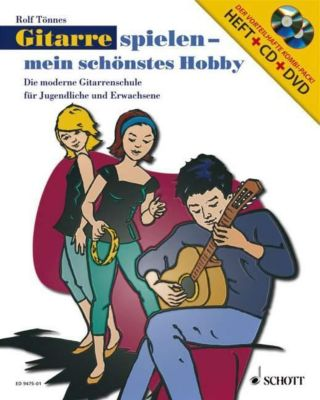 Gitarre spielen, mein schönstes Hobby, m. Audio-CD u. DVD, Rolf Tönnes