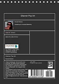 Gitarren Pop Art (Tischkalender 2018 DIN A5 hoch) - Produktdetailbild 13