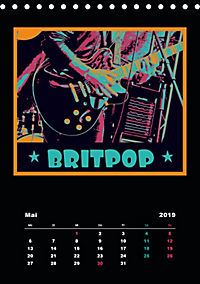 Gitarren Pop Art (Tischkalender 2019 DIN A5 hoch) - Produktdetailbild 5
