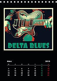 Gitarren Pop Art (Tischkalender 2019 DIN A5 hoch) - Produktdetailbild 3