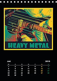 Gitarren Pop Art (Tischkalender 2019 DIN A5 hoch) - Produktdetailbild 7