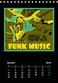 Gitarren Pop Art (Tischkalender 2019 DIN A5 hoch) - Produktdetailbild 10
