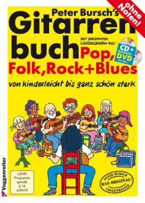 Gitarrenbuch, inklusive Audio-CD und DVD, Peter Bursch