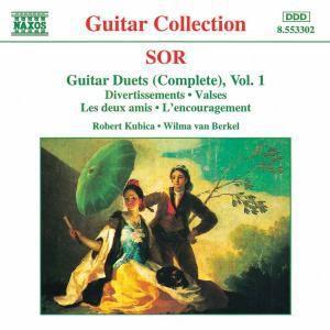 Gitarrenduette Vol.1, Wilma Van Berkel, Robert Kubica