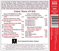 Gitarrenmusik Aus Chile - Produktdetailbild 1