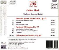 Gitarrenmusik Op.58-60 - Produktdetailbild 1
