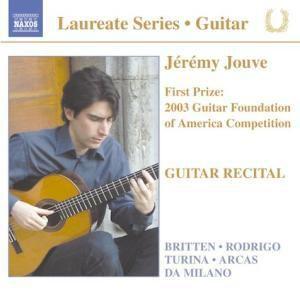Gitarrenrecital, Jeremy Jouve