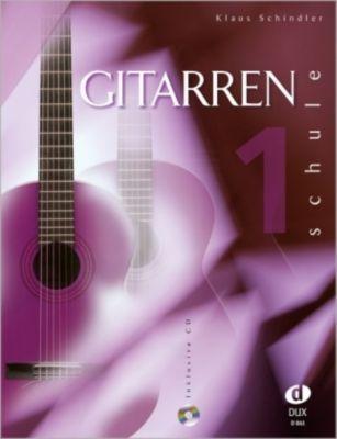 Gitarrenschule, m. Audio-CD, Klaus Schindler