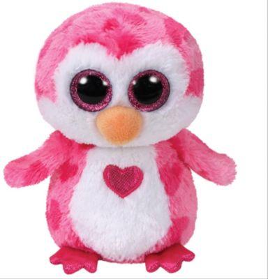 GL Juliet-Pinguin pink m. Herz, ca. 15