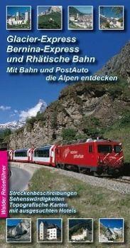 Glacier-Express, Bernina-Express und Rhätische Bahn, 2 Bände, Achim Walder