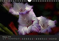 Gladiolus Floral Impressions (Wall Calendar 2019 DIN A4 Landscape) - Produktdetailbild 2