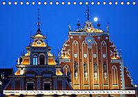 Glanzlichter Rigas - Lettlands prachtvolle Hauptstadt (Tischkalender 2019 DIN A5 quer) - Produktdetailbild 12