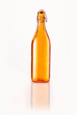 Glasflasche Fresh, Orange