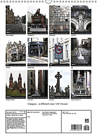 Glasgow - a different view / UK Version (Wall Calendar 2019 DIN A3 Portrait) - Produktdetailbild 13
