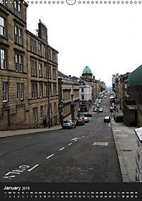 Glasgow - a different view / UK Version (Wall Calendar 2019 DIN A3 Portrait) - Produktdetailbild 1