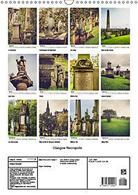 Glasgow Necropolis (Wandkalender 2019 DIN A3 hoch) - Produktdetailbild 13