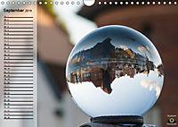 Glaskugel, Die Welt ist eine Kugel. Planer (Wandkalender 2019 DIN A4 quer) - Produktdetailbild 9