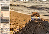 Glaskugel, Die Welt ist eine Kugel. Planer (Wandkalender 2019 DIN A3 quer) - Produktdetailbild 6