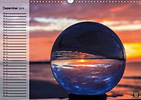 Glaskugel, Die Welt ist eine Kugel. Planer (Wandkalender 2019 DIN A3 quer) - Produktdetailbild 12