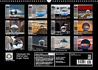 Glaskugel, Die Welt ist eine Kugel. Planer (Wandkalender 2019 DIN A3 quer) - Produktdetailbild 13