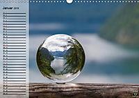 Glaskugel, Die Welt ist eine Kugel. Planer (Wandkalender 2019 DIN A3 quer) - Produktdetailbild 1
