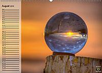 Glaskugel, Die Welt ist eine Kugel. Planer (Wandkalender 2019 DIN A2 quer) - Produktdetailbild 8