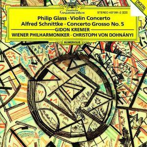 Glass: Violin Concerto / Schnittke: Concerto Grosso, Kremer, Keuschnig, Dohnanyi, Wp