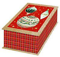 M nzkassette aus holz f r gedenkm nzen bestellen for Nostalgische weihnachtskugeln