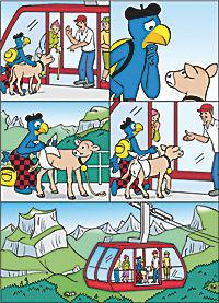 Globis Reise ins Herz der Schweiz - Produktdetailbild 1
