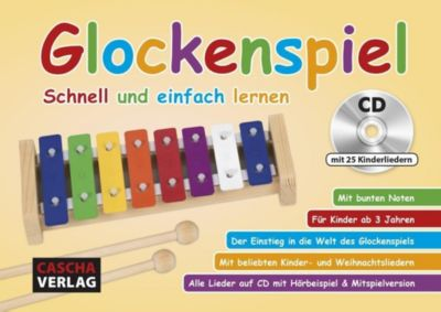 Glockenspiel, m. Audio-CD - Cascha |